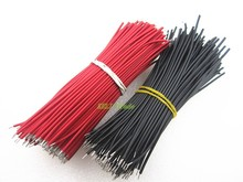100pcs Breadboard Jumper Cable Wires Tinned 0.96cm