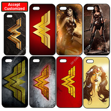 Wonder Woman Hard Plastic Cover Case for iPhone 4 4S 5 5S SE 5C 6 6S 7 8 Plus iPod Touch 5 LG G2 G3 G4 G5 G6