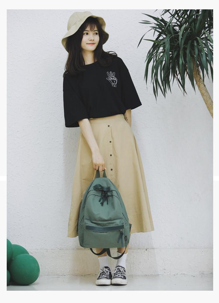Menghuo High Quality Women Canvas Backpack Teenage Girls Leisure Backpack Bag Vintage Stylish Female School Bag Bookbag Mochilas (2)