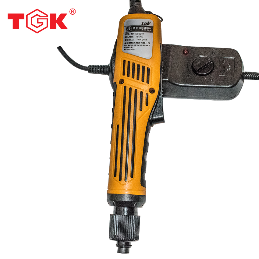 high quality  power tools Electric Screwdriver  1300 rpm 10kg 100-240V Multifunction Screwdriver with small Power Supply DC6210<br>