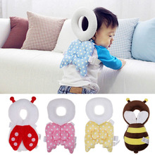 Cute Wings Baby Head Neck Back Protection Pad Toddler Headrest Drop Resistance Guardian Baby Plush Toys Cushion