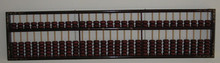 black vintageBig decoration Abacus Chinse soroban 29 column for accountant ,bank tool in mathematic education xmf068(China)