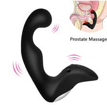 gelugee Male Prostate Massager Anal Vibrator Silicone 10 Speeds Butt Plug Sex Toys for Men Anal Toys Male Masturbator for Adult(China)