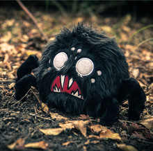 Do Not Starve Hissing Spider Plush doll Don't Starve Black Stuffed Toy GREAT QUALITY Christmas gift Replica 4 Sounds(China)