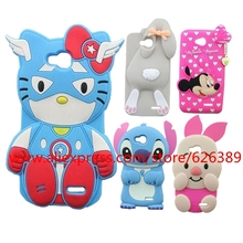 For LG L90 Case Cover Soft Rubber Cartoon Rabbit Minnie Stitch Minions Sulley Phone Bags Cases For LG Optimus L90 D410 D405 D415(China)