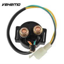 Vehemo Practical Universal 2 Pins Starter Relay Scooter Moped 110cc/125cc GY6 150CC(China)