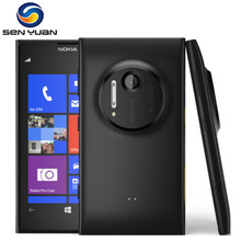 "Original Phone Nokia lumia 1020 Windows phone  2GB RAM 32GB ROM 41MP GPS Wifi 4.5 ""Screen Unlocked Lumia 1020 mobile phone"