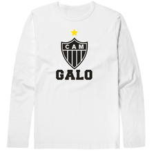 2017 Hot sales Atletico Mineiro T Shirts Frederico Chaves Guedes Fred printing Long Sleeve Anciana Fans Club Cotton tshirt Tops(China)