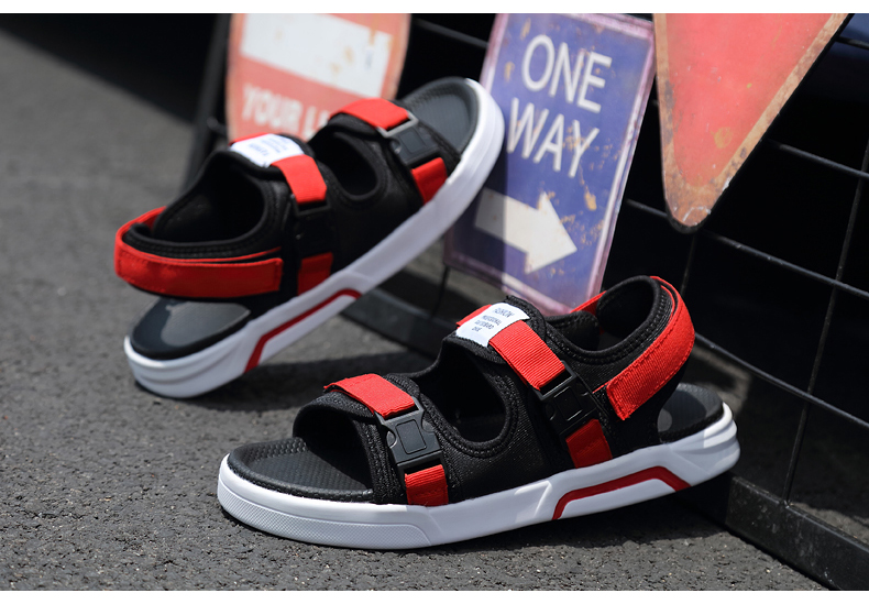 YRRFUOT Summer Big Size Fashion Men's Sandals Outdoor Hot Sale Trend Man Beach Shoes High Quality Non-slip Adult Flats Shoes 46 39 Online shopping Bangladesh