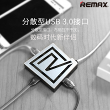 Remax 3 USB 3.0 Ports HUB Adapter With Card Reader SD TF Flash Micro USB Port HUB Adapter Power Charger For Laptop Mobile Phone(China)
