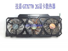 New Original Graphics card cooling fan for Gigabyte GTX770 4GB GV-N770OC-4GB 6 heat pipe copper base