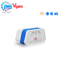 Vgate ICar2 WIFI ELM327 mini OBD 2 Diagnostic tool elm 327 iCar 2 OBDII Original Code Reader Via Wifi For Android/IOS 7 color(China)