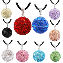 20mm Crystal Eudora Harmony Ball Pendant Baby Chime Ball Relaxing Musical Sound Angel Caller Bola Pendants Jewelry Pregnant Gift(China)