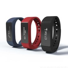 I5 Plus Waterproof Smart Wristband Bluetooth Bracelet Fitness tracker Gesture Control Sleep Monitor Smart Band for Android IOS(China)