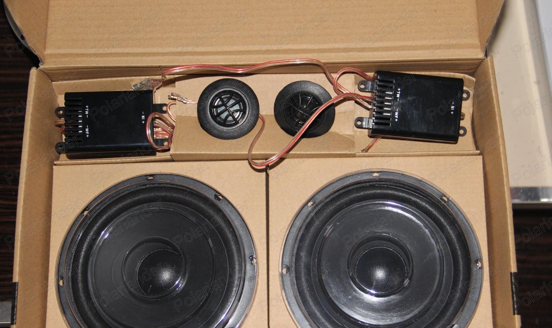 Best top-rateld package car speaker auto stereo New Audio 2x100 Watt 5 Inch 2 way Car Speaker Auto Door Component Speakers<br><br>Aliexpress