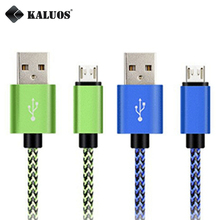 KALUOS 3m Micro USB Data Sync Charging Cable For Huawei Mate7 Honor 6 7 Samsung S3 S4 S6 S7 LG G3 G4 Android Phone Charger Cable