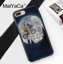 MaiYaCa STAR WARS E.T. PARODY ROBOTS Case For Apple iPhone 8 Plus TPU Soft Shell For iPhone 8 Plus 5.5 inch Cover Protective(China)