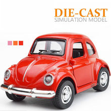 1:64 scale mini cooper diecast cars Jeep Wrangler Volkswagen Beetle Land range rover 911 metal model pull back alloy toys