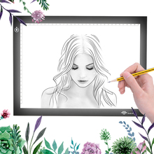 2016 Newest Susvang A4 Led Light Pad Copy Tracing Borad Slim A4 Tracing Drawing Graphic Led Light Pad Free Shipping