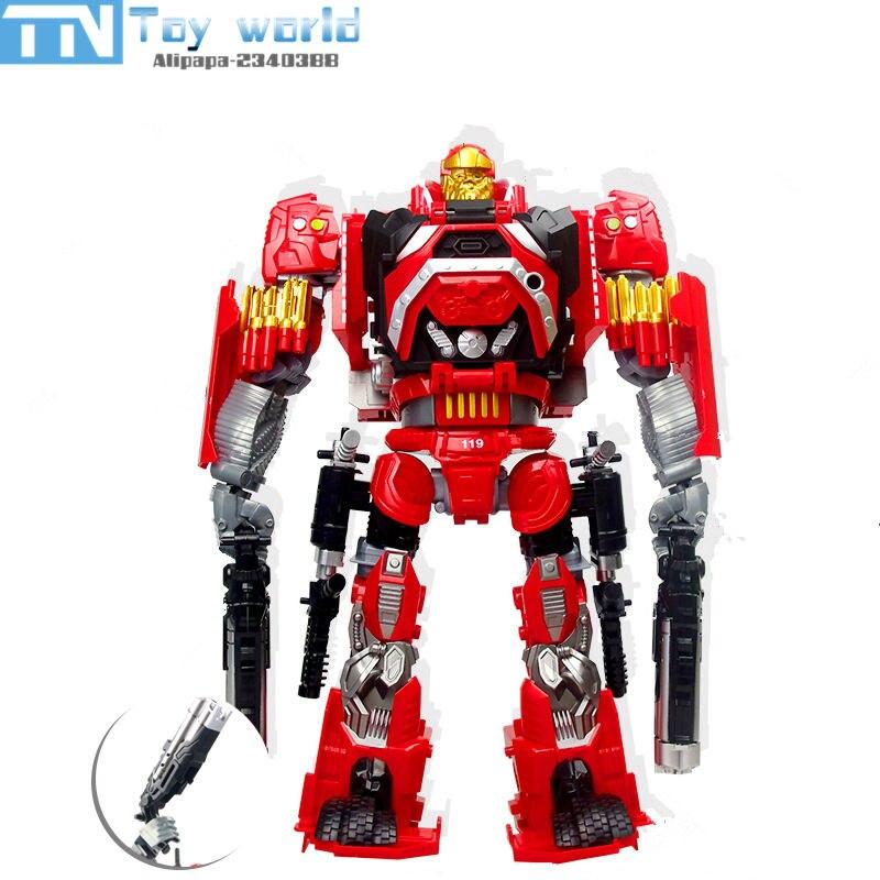 Punane transformer auto/robot
