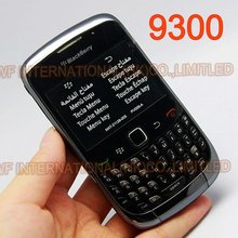 Original BlackBerry 9300 Curve Mobile Phone Smartphone Unlocked 3G WIFI Refurbished Cellphones(China)