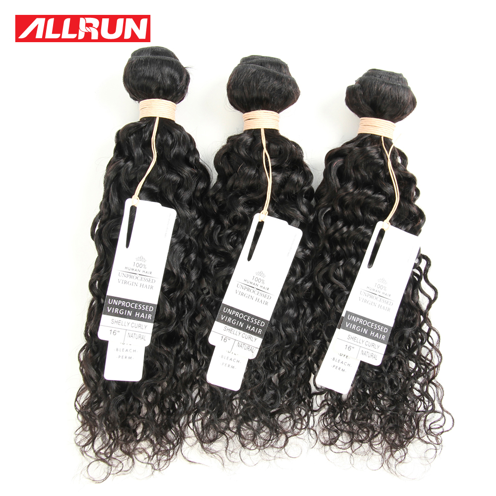 7A Unprocessed Virgin Hair 3PCS Water Wave Malaysian Curly Hair Extension Can Be Straightened Malaysian Virgin Hair Bundle Deals<br><br>Aliexpress