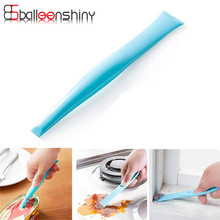 Double Head Bathroom Kitchen Cleaning Tool Corner Brush Stain Remover Window Side Cleaner multifunction(China)