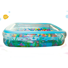 High Quality Inflatable PVC Family Large Piscinas Rectangular Zwembad Swimming Pool For Adults And Children Size 305*183*50cm(China)