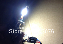 FREE SHIPPING, HOT CHA DLand 35W (70W) H4 HI/LO AUTO LED BULB LAMP HEADLAMP, DC 12V 24V , TOP QUALITY WITH LOW BEAM HIGH BEAM