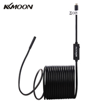 KKmoon 2M/5M Cable 5.5mm USB Endoscope Waterproof Handheld Borescope Inspection Camera for Android with OTG and UVC Function(China)
