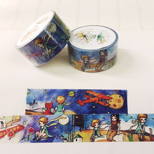 2cm*7m little prince washi tape DIY decoration tape scrapbooking planner masking tape office adhesive tape label sticker kawaii