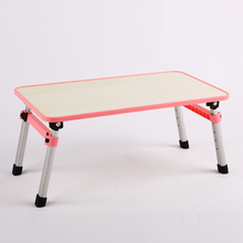 Creative notebook computer desk fold standing desk bed lazy table simple camping table