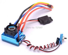 120A Sensored Brushless Speed Controller ESC for 1/16 1/10 1/12 RC Car Crawler