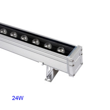 10X High quality 24W new design led wall washer light outdoor wall wash lighting express free shipping