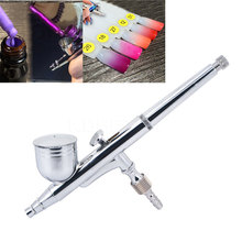 0.2 mm Dual Action Airbrush Multi Function Air Brush Kit Spray Gun For Nail Art/body Tattoos Spray/ Cake/ Toy Models