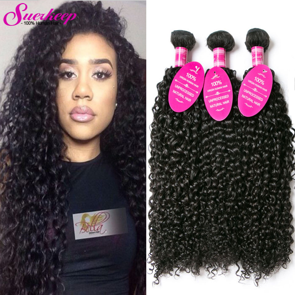 Brazilian Kinky Curly Virgin Hair 3 Bundles 8A Brazilian Virgin Hair Curly Weave Human Hair Brazilian Hair Weave Bundles Curly<br><br>Aliexpress