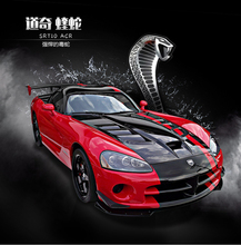 High simulation supercar,1:24 scale alloy Dodge Viper ViperSRT ACR Muscle Car,Collection metal model toys,free shipping