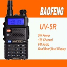 baofeng uv-5r dual band dual display dual standby 5W amateur radio transceiver baofeng uv5r bf-uv5r