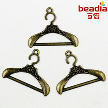 New Fashion 6pcs/lot Charms Antique Bronze Plated Hanger Alloy Charms&Pendant For Jewelry Findings