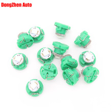 10X Car Auto 1 SMD T5 T4.2 Wedge LED Cluster Gauge Speedometer Bulb Dashboard Instrument Map Panel Bulb Climate Base Light