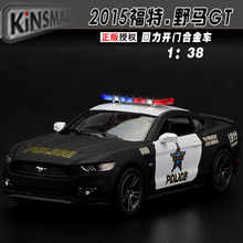High simulation SWAT car,1:36 Alloy pull back toy cars,Ford Mustang GT,metal toys, free shipping(China)