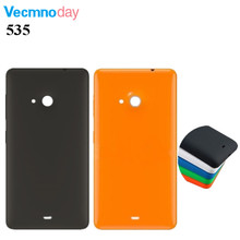 Vecmnoday Genuine Back cover Battery cover for Microsoft Nokia Lumia 535 back housing battery door cover case(China)