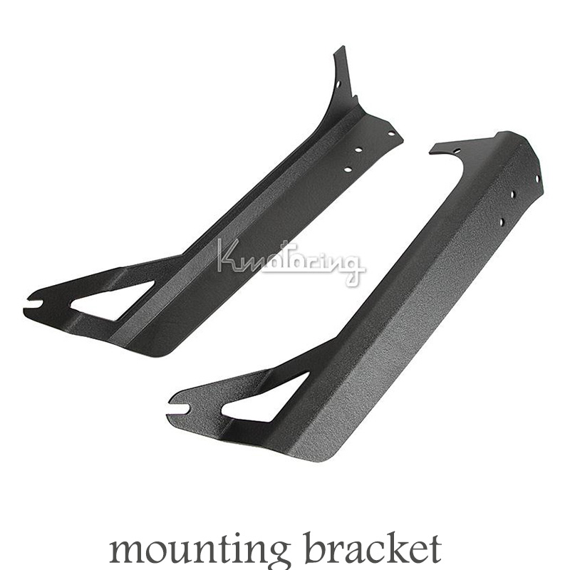 For Jeep Wrangler TJ 1997-2006 Windshield Light Mounting Bracket  Upper Roof 50 inch Straight Led Light Bar Mounting Bracket Kit<br><br>Aliexpress