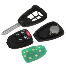 5 Buttons Auto Key Remote Control Car Key Accessories For Dodge Chrysler Jeep 2010-2014 ID : OHT692427AA Replacement