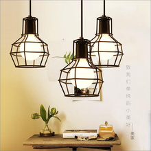 Loft Vintage Pendant Lamp Aluminum Iron Retro lighting fixtures Industrial Style lamparas de techo vintage Edison Pendant Lights