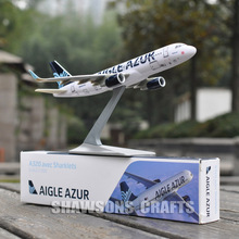 AIRCRAFT MODEL 1:200 AIRBUS AVEC SHARKLETS A320 AIGLE AZUR AIRLINER PLANE REPLICA(China)