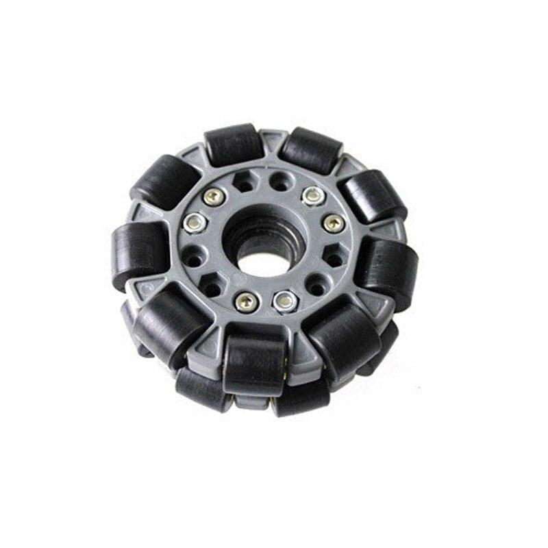 DOIT 1pcs 100mm Omni-directional Wheel 4 inch Omni wheel for Robot Competition Robocup/Robocon/DIY/Robot Study with Metal Hub<br>
