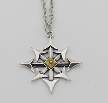 2015 New Arrival Chaos Star Necklace Nautical Pirate Punk Pendant Stripper Gothic Goth Jewelry(China)