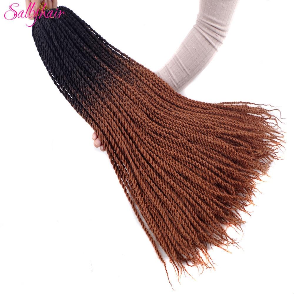 Ombre Color Senegal Twist Braids Crochet Braids Hair Extensions (6)_