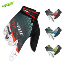 BOTFOX F-559 MTB Cycling Gloves Bicycle Gloves Mens Women's Long Full Finger Gloves Gym Winter Sports Red/Green/Blue Ciclismo